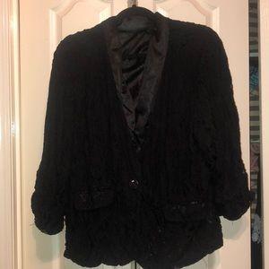Lace blazer (lined)